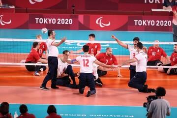خلاصه دیدار والیبال نشسته ایران ۳-۱ روسیه  / فیلم