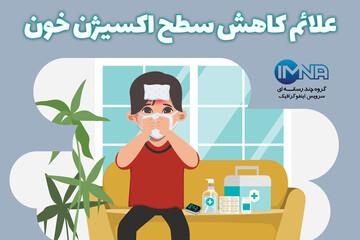 نشانههای هشدار دهنده کاهش سطح اکسیژن خون در مبتلایان به کرونا / عکس