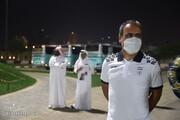 مهدویکیا به اردوی تیم ملی رفت / عکس