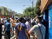 تجمع اعتراضی هواداران استقلال علیه مددی / عکس