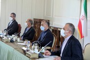 برگزاری جلسه مشترک وزرای امور خارجه و نیرو