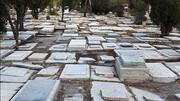 اتفاقی عجیب در زنجان / ناپدید شدن سنگ های قبر از گورستان و مزار شهدا / فیلم