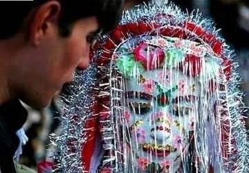 عجیبترین و ترسناکترین عروس دنیا / عکس