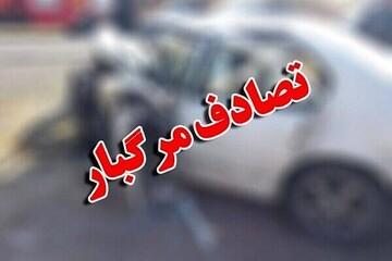 ویدیو هولناک از لحظه تصادف مرگبار سانتافه با مزدا ۳ در زنجان