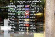 نرخ ارز ۱۸ شهریور ۱۴۰۰ / دلار اندکی گران شد