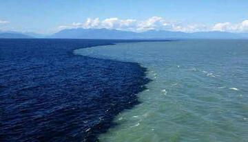 آب این اقیانوس ۲ رنگ است! / فیلم