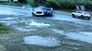 ویدیو وحشتناک از جانباختن دختر جوان بابلی در تصادف با نیسان