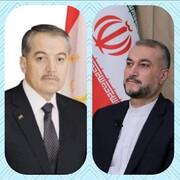 پیام تبریک امیرعبداللهیان به مناسبت سیامین سالگرد استقلال تاجیکستان