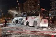 ویدیو دلخراش از سانحه مرگبار تصادف اتوبوس در ترکیه؛ ۲۲ کشته و زخمی
