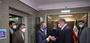 دیدار گروسی با اسلامی در تهران/ تصاویر