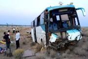 تصادف وحشتناک اتوبوس با تریلی ۲۵ کشته و مصدوم برجای گذاشت