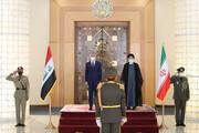 استقبال رسمی رئیسی از نخستوزیر عراق / تصاویر