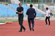 تمرینات سپاهان برای ۲ هفته به تهران منتقل شد