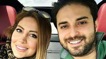 عکس بابک جهانبخش و همسرش در خلیج فارس