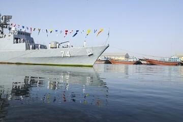 مراسم استقبال از ناوگروه ۷۵ نیروی دریایی ارتش / تصاویر