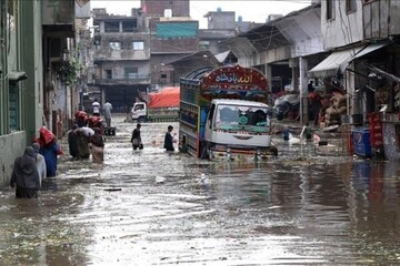 ۱۶ کشته در پی بارندگی سیلآسا در پاکستان