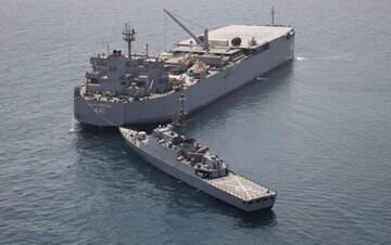 ناوگروه ۷۵ قدرت دریایی ایران را به معرض نمایش گذاشت