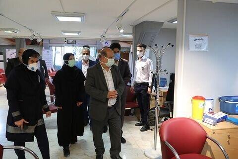 قدردانی فرمانده قرارگاه مدیریت کرونای تهران از بانک رفاه کارگران