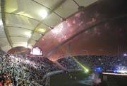 عکسی جذاب از محل برگزاری بازی تراکتور و النصر