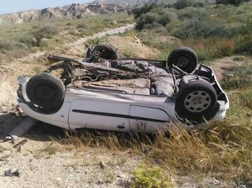 تصادف هولناک در محور طبس_یزد / ۵ نفر جان باختند