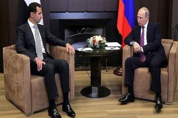 دیدار پوتین و بشار اسد در مسکو