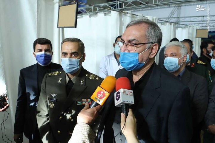 وزیر بهداشت: واکسن فخرا به تایید رسیده است / فیلم