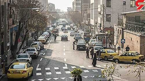 ماجرای برهنگی کامل زن جوان در خیابان پیروزی تهران / کسبه محل با یک پتو زن جوان را متوقف کردند!