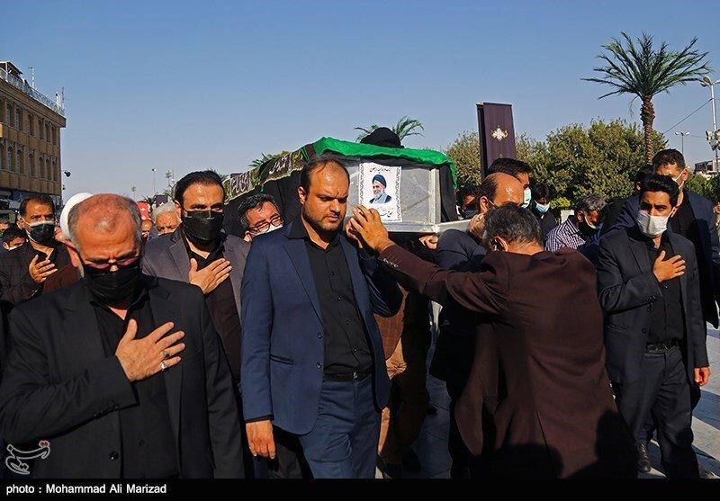 مراسم تشییع رییس دادگاه انقلاب تهران / تصاویر