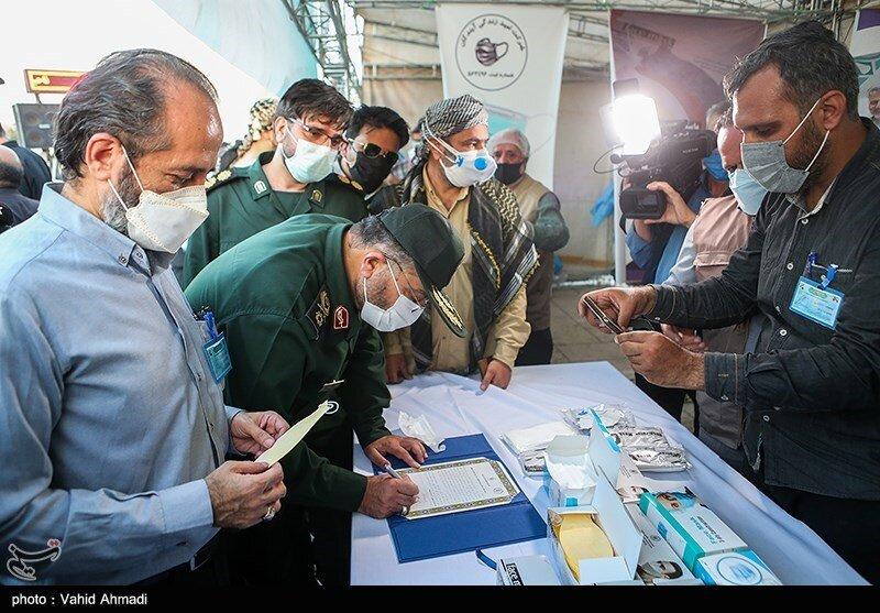 رزمایش سپاه برای مقابله با کرونا / تصاویر
