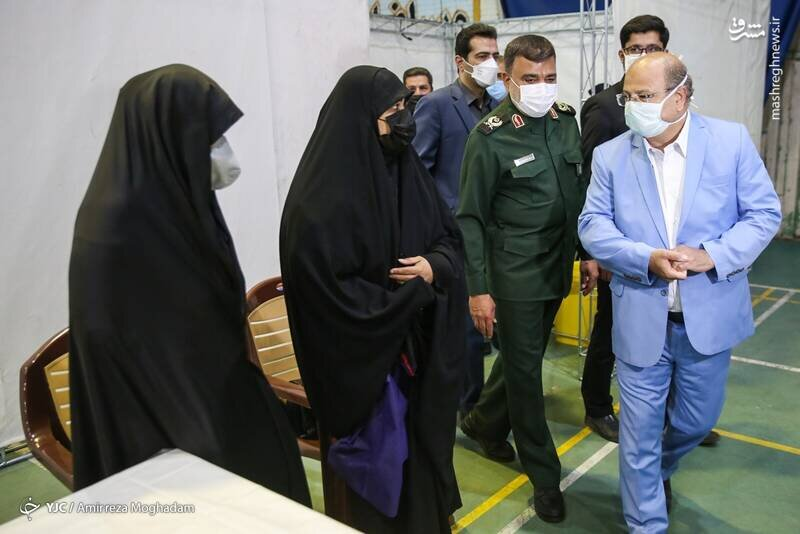 افتتاح مرکز واکسیناسیون بهداری سپاه / تصاویر