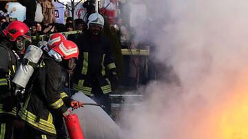 ویدیو وحشتناک از انفجار خودرو پراید در پمپ گاز مشهد
