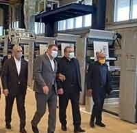 بازدید مدیران ارشد بانک ملی ایران از کارخانه چای دبش