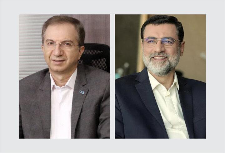 پیام تبریک مدیرعامل بانک دی به رییس جدید بنیاد شهید و امور ایثارگران