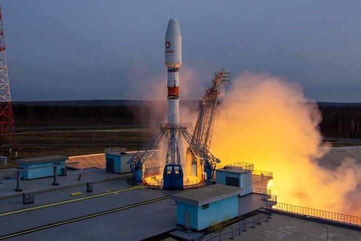 ۳۴ ماهواره انگلیسی توسط روسیه به فضا پرتاب شدند