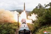 ویدئویی از لحظه شلیک دو موشک کرهشمالی از روی قطار