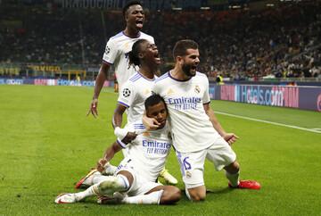 خلاصه دیدار اینتر ۰-۱ رئال مادرید در مرحله گروهی لیگ قهرمانان اروپا / فیلم
