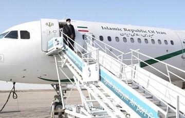 رییسی تهران را به مقصد دوشنبه ترک کرد