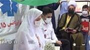 برگزاری عقد عجیب دو جوان در آمبولانس در فارس