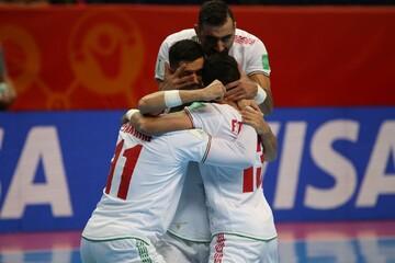 برتری چهار بر دو تیم ملی فوتسال برابر آمریکا در مسابقات جام جهانی ۲۰۲۱