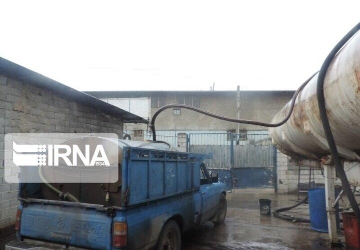 کشف ۲ هزار لیتر سوخت قاچاق در گیلانغرب