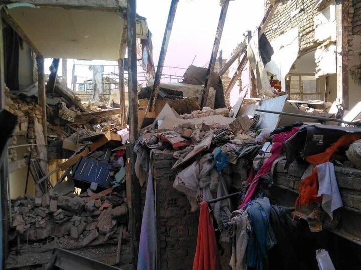وقوع انفجار در بازارچه شهرداری نظرآباد / فیلم