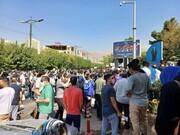 هواداران استقلال مقابل وزارت ورزش تجمع کردند