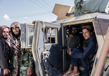 بازی عجیب نیروهای طالبان در پایگاه بگرام! / فیلم