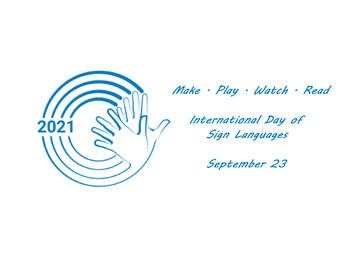 به بهانه روز جهانی زبان اشاره