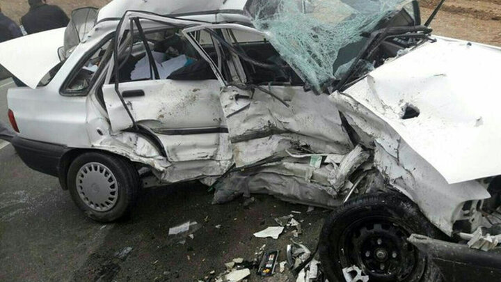 واژگونی هولناک پراید در مهاباد / ۳ نفر جان باختند