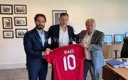 علی دایی، مهمان ویژه هفته لیگ قهرمانان اروپا