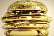 تصاویری از گرانترین ساندویچ جهان که از طلا ساخته شده است/ فیلم