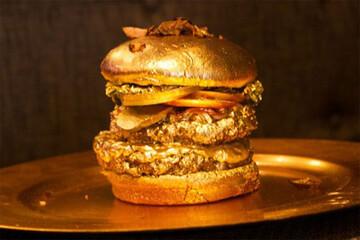 رونمایی از ساندویچ لاکچری ۳ میلیون دلاری / فیلم