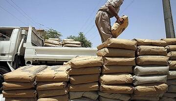 وعده وزیر صمت برای کاهش قیمت سیمان محقق نشد /  قیمت سیمان پاکتی در بازار ۶۰ هزار تومان