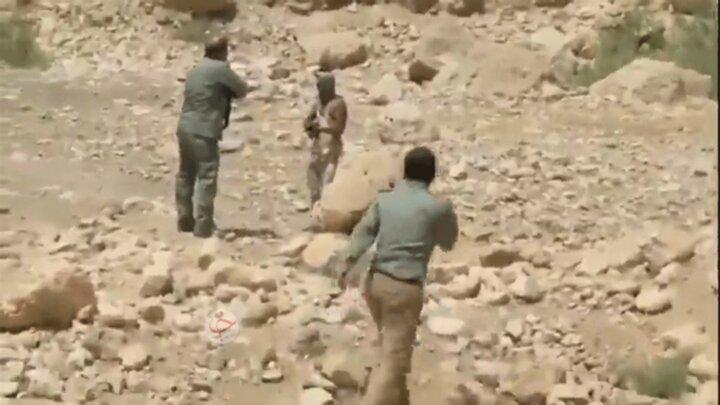 درگیری مسلحانه شکارچی بزکوهی با محیطبانان / فیلم